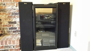 Kenwood Stereo System with Nuance Speaker Towers