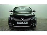 2014 Volkswagen Passat EXECUTIVE TDI BLUEMOTION TECHNOLOGY Diesel black Manual