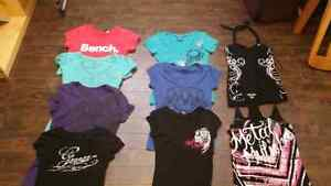BRANDED TEES AND TANKS
