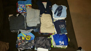 Assorted Boys Clothes Ranging From Sizes 7 to 10