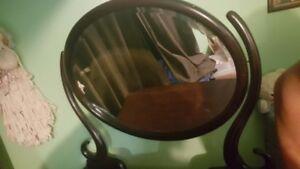 Antique Dresser- 3 Drawers with Mirror