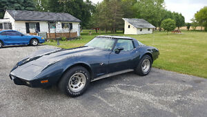 1979 Sting Ray Corvette