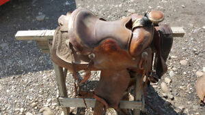 Western Roping  Saddle