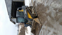 mini excavators/trackskidsteer
