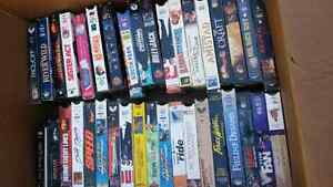 72 vhs tapes box lot 72 vhs assorted Peterborough Peterborough Area image 1