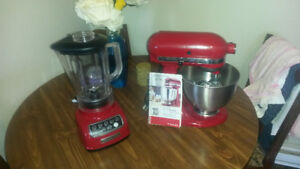 Kitchen-Aid Heavy Duty Mixer and Blender
