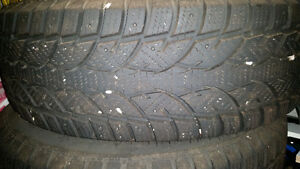 """Winter Tires - 17"""" 235/65R17 on Ford Edge Steel rims - Like New!"""
