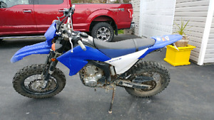 Street legal 2008 Yamaha WR250X