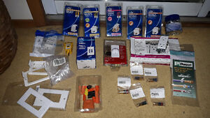 LARGE LOT OF New ELECTRICAL/ELECTRONIC/NETWORK Accessories Cambridge Kitchener Area image 1