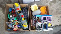 Two Boxes of Toys Selling for Cheap!!!