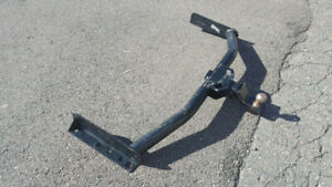 Heavy duty trailer hitch with ball mount- good price