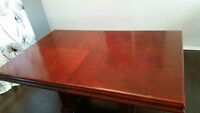 Solid Oak Dining Table Seats 10