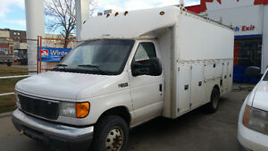 FORD E-450 SERVICE TRUCK 2005 Plumbing service etc
