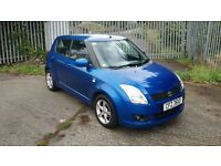 2010 SUZUKI SWIFT SZ-3. 5 dr Met Blue .!! 1.2 Diesel £30 Road Tax ..