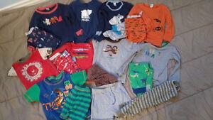 18 and 24 month boy pajamas