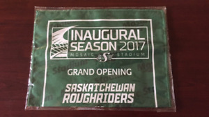 Sk Roughriders Inaugural Season - Opening day souvenir towel