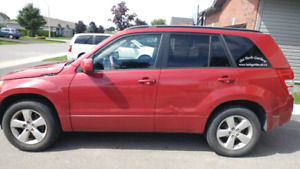 2011 Red Suzuki Grand Vitara