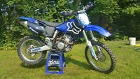 292 Big bore 2001 yzf 250 with extras.