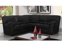 BRAND NEW* Candy sofas// 3+2 seater sofa set or corner sofa..... in black, brown,cream or red