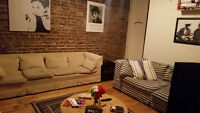 Spacious appartment for rent in mile-end area!