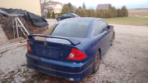 Honda civic 2005, new summer tires, 2 year old winter tires.