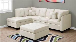 SPÉCIAL : Salon modulaire dispo en plusieurs couleurs à 845 $