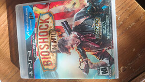 Bioshock Infinite PS3 Never opened game