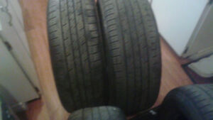 4 Tires for sale 225/60/17 best offer