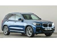 2018 BMW X3 xDrive20d M Sport 5dr Step Auto SUV diesel Automatic
