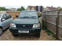 1999 Toyota Land Cruiser colorado rare 3 door swb tow pack new mot 4x4