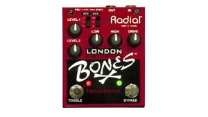 Pédale Distortion+Drive Radial Tonebone London Bones