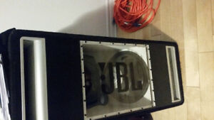 """$250 - 2 x 12"""" JBL subs + Amp for car"""