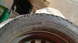 Set of 4 lightly Used Winter Tires
