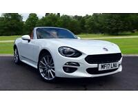 2016 Fiat 124 Spider 1.4 Multiair Lusso Plus 2dr Manual Petrol Convertible