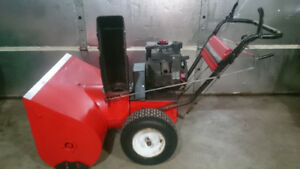 "Snowblower Mastercraft 363cc High output 33"" Commercial"