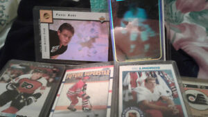 Hockey cards from 90'-91', some 91'-92'/92'-93'