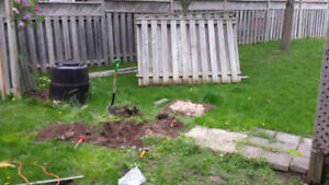 Fence repair!   Broken or leaning posts? FIX IT NOW!