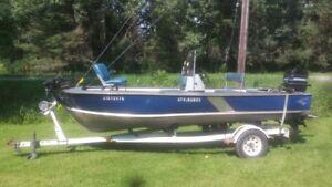 Fishing boat - 16ft Springbok Centre console