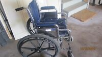 Walker  and  wheelchair  for sale