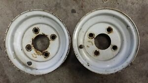 4.8 x 8 trailer rims used