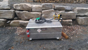260L fuel tank with 13GPM pump barly used