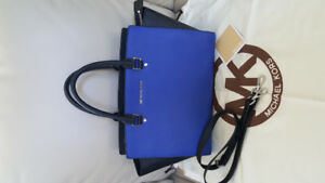 Authentic Michael Kors Medium Saffiano Selma Satchel