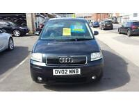 2002 AUDI A2 1.4 SE 5 Door From GBP1,995 + Retail Package