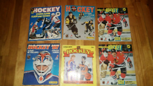 Album collant hockey vintage