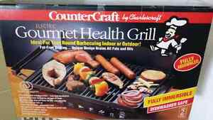 Charles craft Gourmet Electric Health Grill