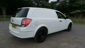 2012 Vauxhall Astra 1.7 CLUB ECOFLEX 108 BHP CAR DERIVED VAN Diesel Manual