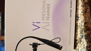 Vi  Headphones with tracker and trainer! Never used!