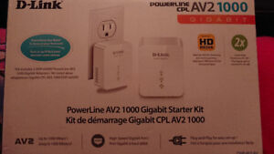 D-Link PowerLine AV2 1000 Gigabit Adapter (DHP-601AV)