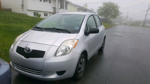 yaris 2007. needs nothing. new tires. umdercoated