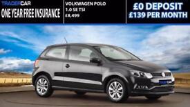 Volkswagen Polo 1.2 TSI 2015 SE - FREE INSURANCE
